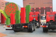 一汽解放 J6P重卡 轻量化版 350马力 8X4 9.5米 国四栏板载货车(CA1310P66K2L7T4E4)