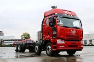 一汽解放 J6P重卡 复合型 390马力 8X4 9.5米 国五厢式载货车(CA5310XXYP66K2L7T4E5)