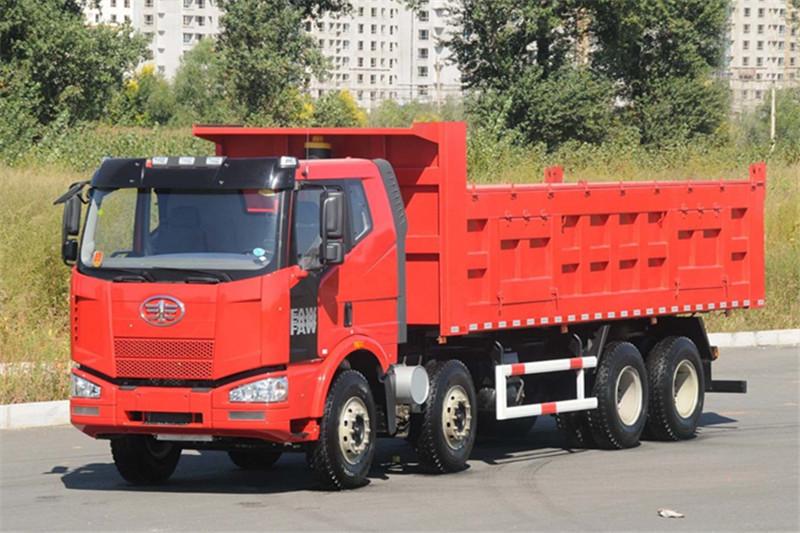 一汽解放 J6M准重卡 320马力 8X4 国四自卸车(CA3310P63K2L1BT4E4)