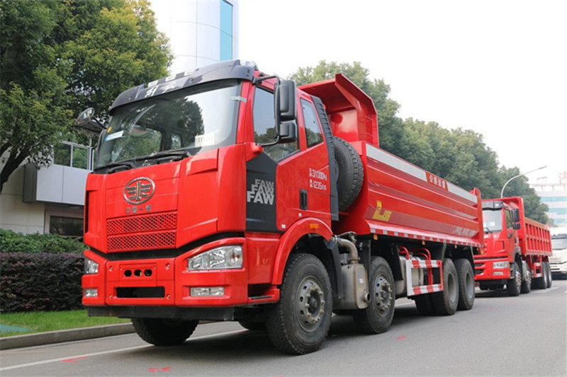 一汽解放 J6M重卡 320马力 8X4 7.2米 国五自卸车(CA3310P63K1L2T4E5)