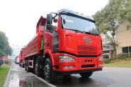 一汽解放 J6M重卡 320马力 8X4 7.2米 国五自卸车(CA3310P63K1L1T4E5)