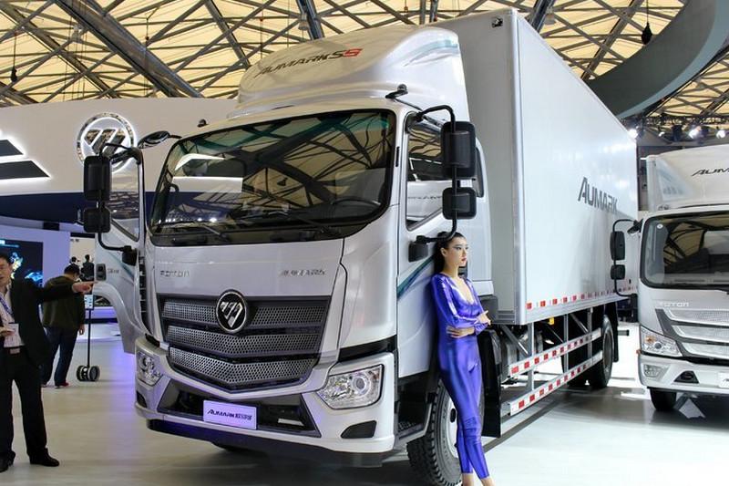 福田 欧马可S5 156马力 7.2米 国五 排半厢式载货车(BJ5126XXY-A2)