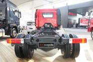 解放 J6L 180马力 4X2 国四压缩式垃圾车(底盘)