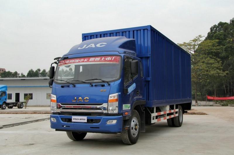 江淮帅铃 威司达W530中卡 160马力 4X2 6.8米 国四厢式载货车(HFC5142XXYP70K1E1)
