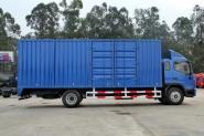 江淮帅铃 威司达W500中卡 165马力 4X2 6.8米 国四厢式载货车(HFC5162XXYP70K1E1)