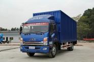 江淮帅铃 威司达W570中卡 165马力 4X2 7.5米 国四厢式载货车(HFC5141XXYP70K1E2)