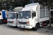 东风商用车 嘉运 120马力 4.1米 国四单排仓栅式轻卡(黄牌)(DFH5080CCYB)