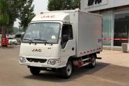 江淮 康铃X1 61马力 1.1L 汽油 4X2 2.5米 国四 双排厢式微卡(HFC5030XXYRW4E1B4D)