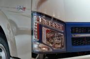 金杯 骐运 75马力 4X2 4.3米单排厢式轻卡(纯电动)