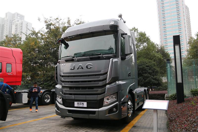 江淮 格尔发k7重卡 540马力 6x4 国五牵引车(hfc4252p13k8e33s7v)