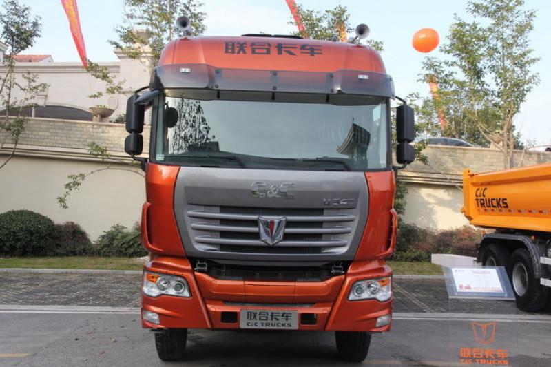 联合卡车U380 标载型 380马力 8X4 国四 仓栅式载货车(SQR5311CCYD6T6)