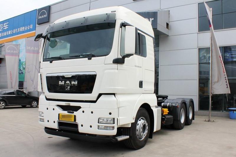 曼(MAN) TGX系列重卡 440马力 国五 6X4牵引车(型号:TGX26.440 BLS)
