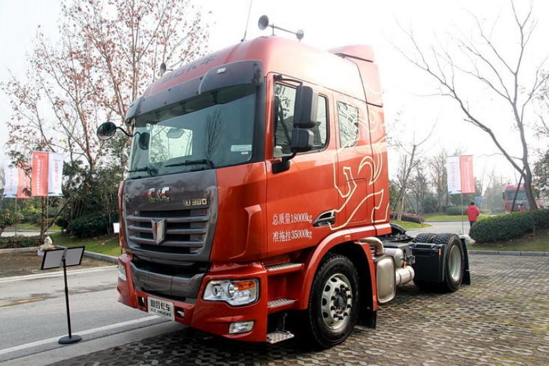 联合卡车 U380重卡 2015款 标载型 380马力 6X2 国四 牵引车(SQR4251D6ZT2)