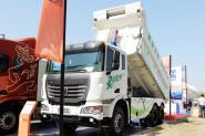 联合卡车U340 340马力 6X4 5.8米LNG 国五 自卸车(蓬翔轮边减速桥)(SQR3252N6T4)
