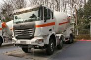 联合卡车U380 380马力 8X4 国四 混凝土搅拌车(SQR5311GJBD6T6-2)