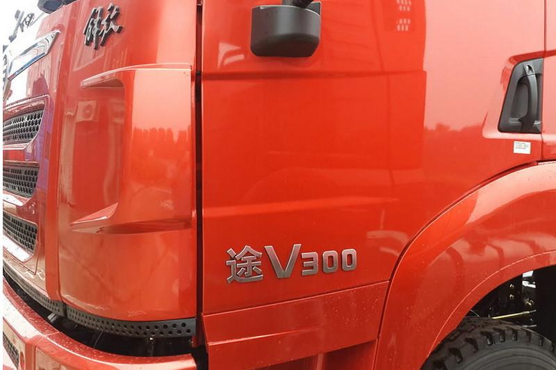 一汽解放青汽 途V重卡 430马力 8X4 国五载货车底盘(CA1320P2K2L7T4E5A80)