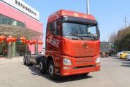 一汽解放青汽 JH6重卡 350马力 8X4 9.5米 国五厢式载货车底盘(CA5310XXYP25K2L7T4E5A80)