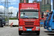 一汽解放青汽 龙V中卡 220马力 6X2 9.5米 国四排半厢式载货车(CA5250XXYPK2L7T3E4A80-3)
