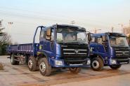 福田 瑞沃中卡 220马力 6X2 7.5米 国四 栏板载货车(BJ1255VNPHE-5)