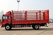 福田 瑞沃中卡 180马力 6X2 6.8米 国四 仓栅式载货车(BJ5255CCY-1)