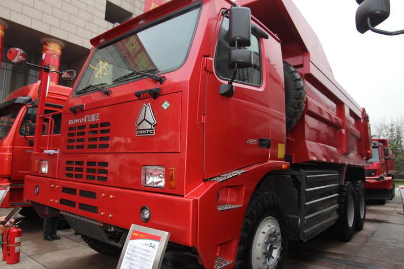 中国重汽 HOWO 420马力 6X4 国三宽体矿用自卸车