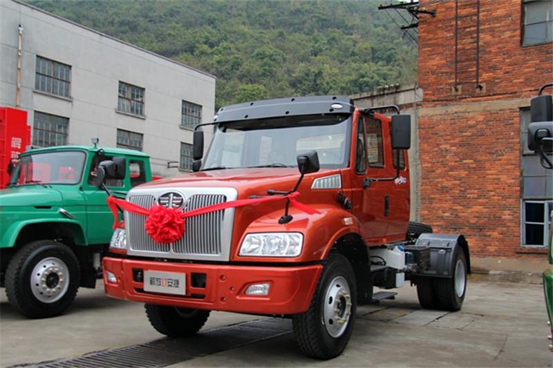 一汽解放柳特 新安捷(L5R)重卡 290马力 4X2 国四牵引车(CA4180K2E4R7A90)