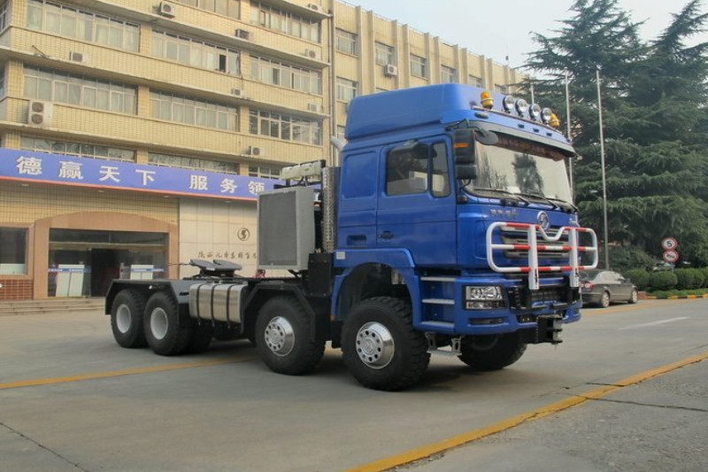 陕汽重卡 德龙F3000 600马力 6X6 国五大件牵引车(SX4300)