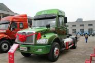一汽解放柳特 安捷(L5R)重卡 350马力 4X2 国五LNG牵引车(CA4182N2E5A90)