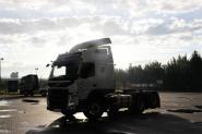 沃尔沃 FM重卡 460马力 6X2 国四牵引车(冬白)