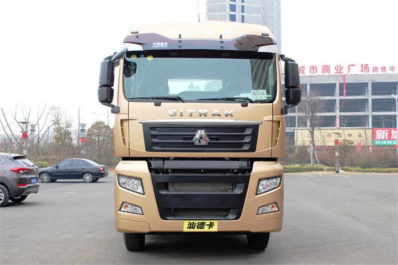 中国重汽 汕德卡SITRAK C7H重卡 540马力 6X2R 国五牵引车(ZZ4256V323HE1)外观图片