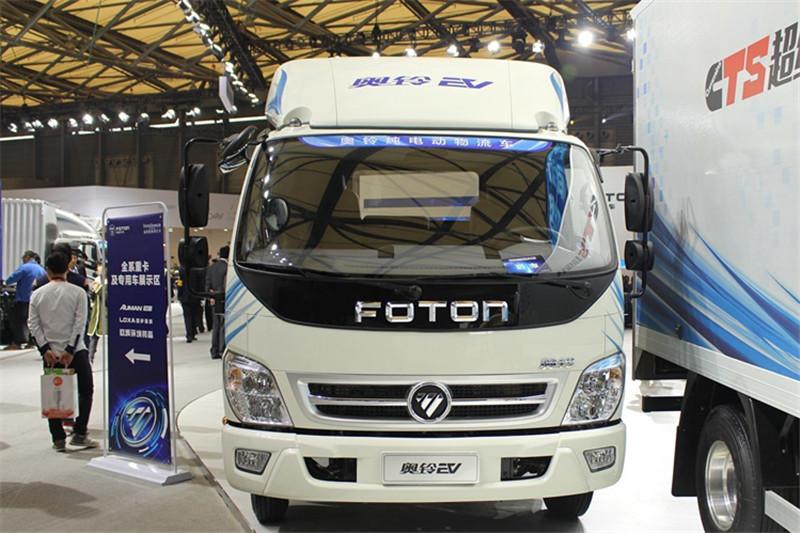 福田 奥铃EV 95马力 2800轴距 3.3米单排厢式轻卡(纯电动)(BJ5036XXYEV1)