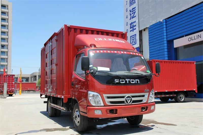 福田 奥铃TX 强劲版 110马力 4.2米 4X2 国四单排厢式轻卡(BJ5049XXY-GA)