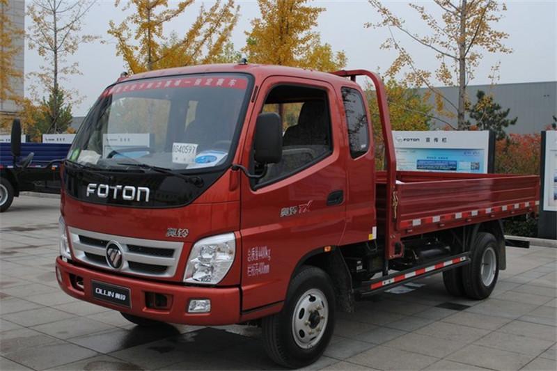 福田 奥铃TX 科技版 110马力 3.8米 4X2 国四排半栏板轻卡(BJ1049V8JDA-A1)