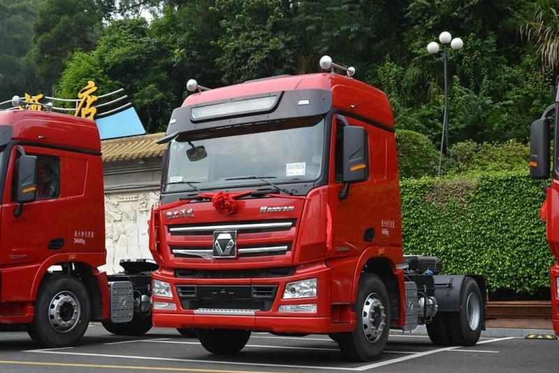 徐工 漢风G7重卡 336马力 4X2 国五 危险品牵引车(NXG4189D5WA)