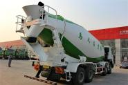 中国重汽 HOWO 380马力 8X4 国四混凝土搅拌车(ZZ5317GJBN3667D1)