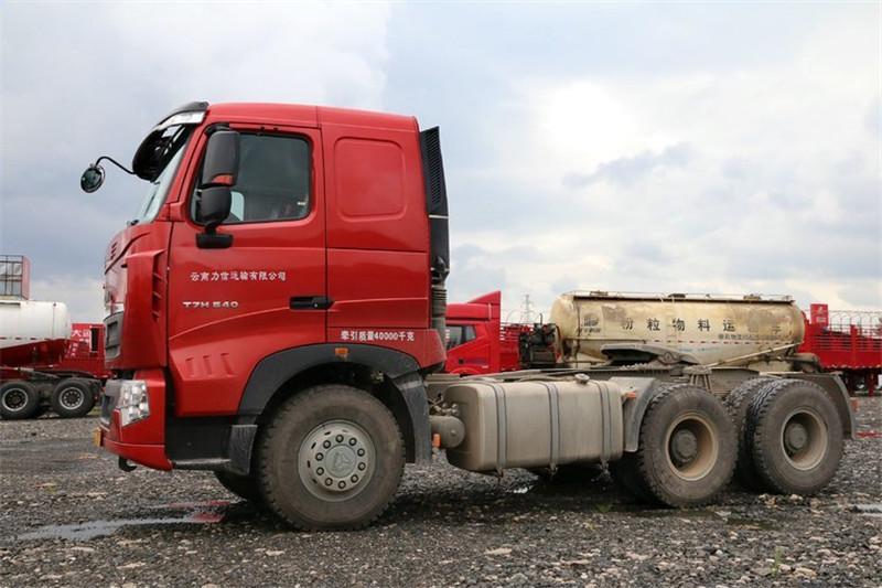 中国重汽 HOWO T7H重卡 480马力 4X2 国四牵引车(ZZ4187V361HD1B)