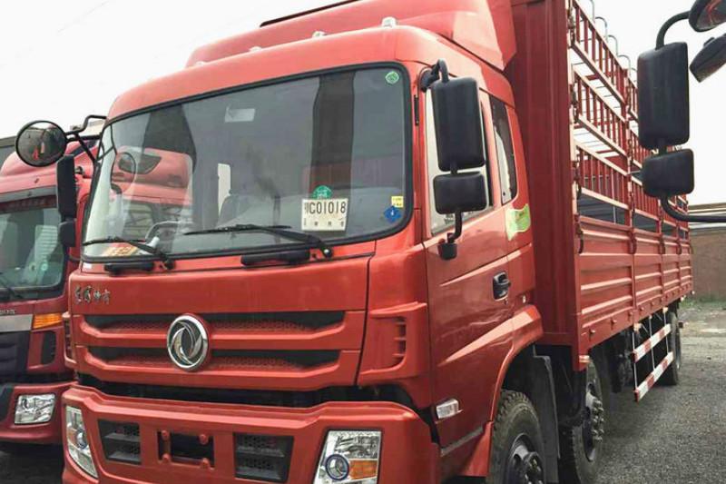 东风特商 重卡 245马力 6X2 9.6米 国四 仓栅式载货车(EQ5253CCYF2)