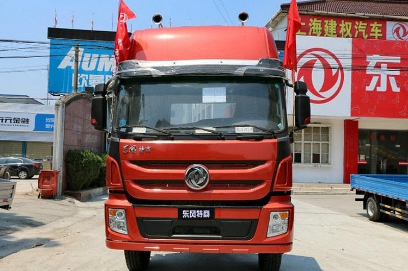 东风特商 重卡 270马力 8X2 9.6米 国五 厢式载货车底盘(EQ5311XXYFV)