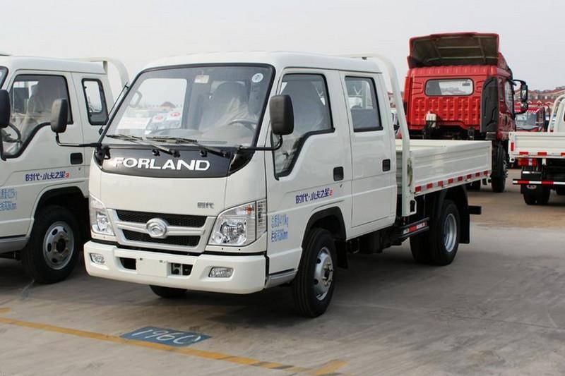 时代汽车 小卡之星Q2 1.3L 87马力 汽油/CNG 2.7米 国五 双排单排栏板微卡(BJ1032V3AV5-GH)