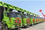 30辆徐工新型城市环保渣土车交付用户