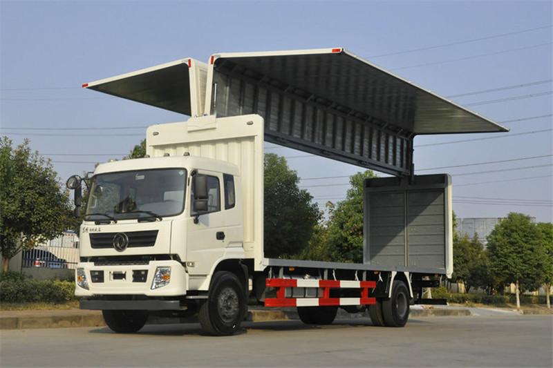 东风 专底系列 245马力 4X2 9.6米 国五翼开启厢式载货车(EQ5180XYKGD5D)