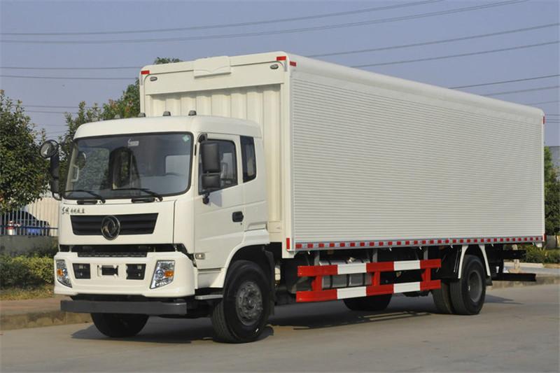 东风 专底系列 210马力 4X2 9.6米 国五排半厢式载货车(EQ5180XXYGD5D)