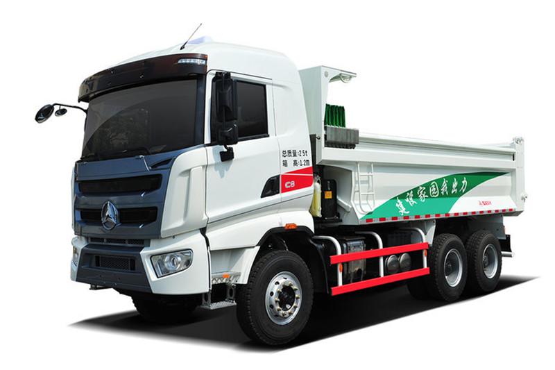 三一重工 V5重卡 310马力 6X4 5.4米 国五环保智能自卸车(玉柴)(HQC3250ZZX1E)