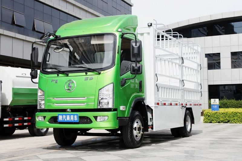 陕汽商用车 轩德E9 82马力 4.2米 零排放 单排厢式轻卡(纯电动)(SX5070XXYBEV1)