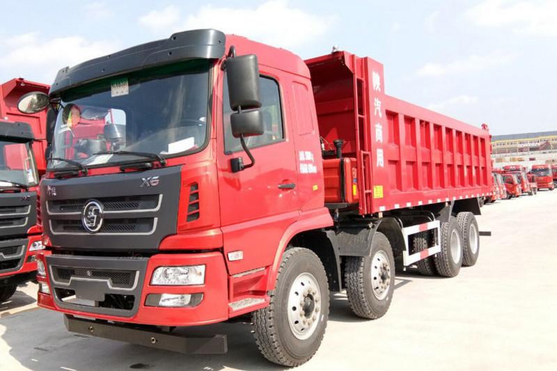 陕汽商用车 轩德X6 标载版 300马力(潍柴) 8X4 6.8米 国五 自卸车(SX3315GP5)