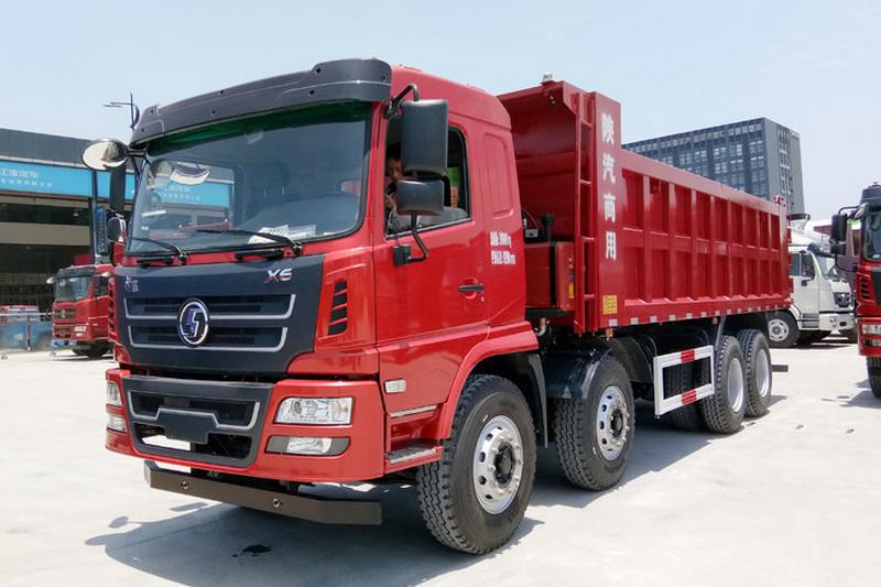 陕汽商用车 轩德X6 复合版 300马力(潍柴) 8X4 6.8米 国五自卸车(SX3315GP5)外观图片