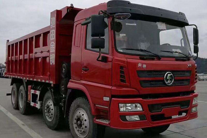 陕汽商用车 轩德X6 标载版 270马力 8X4 6.8米国五 自卸车(SX3312GP5)