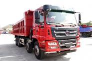 陕汽商用车 轩德X6 标载版 270马力(潍柴) 8X4 6.8米 国五自卸车(SX3312GP5)