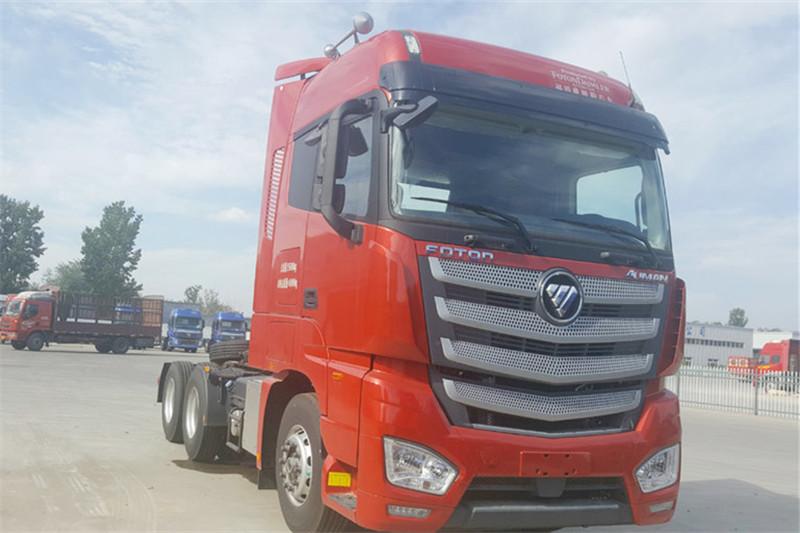 福田 欧曼EST 6系重卡 430马力  国五6X4危险品牵引车(BJ4259SNFKB-AB)