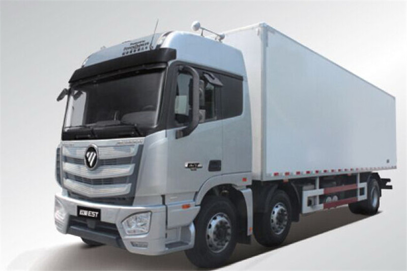 福田 欧曼EST 6系重卡 245马力 国五 6X2 9.45米冷藏车(BJ5259XLC-AA)